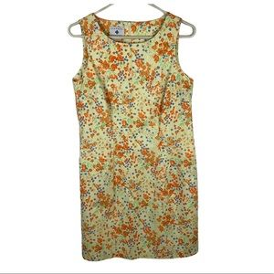 Classics by Eileen West dress floral yellow Sz 12P